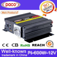 Mini and Compact 600w 12v Power Inverter with Pwm Output Regulation