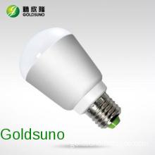 Shenzhen 3W bulb led light manufacturer,pure aluminum shell,e27 b22