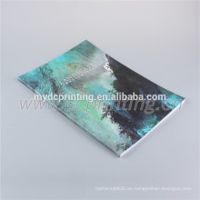 Fábrica de tapa dura de Dongguan y libro de tapa dura