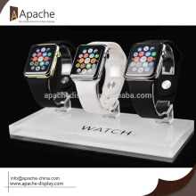 Acrylic watch display holeder base