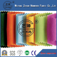 100% PP Spun-Bond Non Woven Fabric in Cross Design Used for Shopping Bag