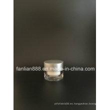 Tarros de crema redondos clásicos de acrílico Customerized para el empaquetado cosmético