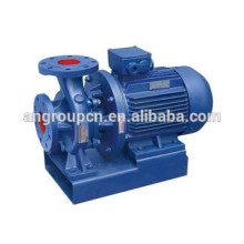Pompe centrifuge horizontale en acier inoxydable d'eaux d'égout