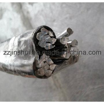 Верхний алюминиевый кабель ACSR 3 * 4 / 0AWG Razor