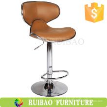 RBS-6132 Taburete giratorio para mostrador de moda Mariposa de piel de cuero Bar Chair Store Taburete de bar