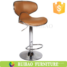 RBS-6132 Swivel Counter Stool Moda Butterfly Leather Bar Chair Store Bar Stool