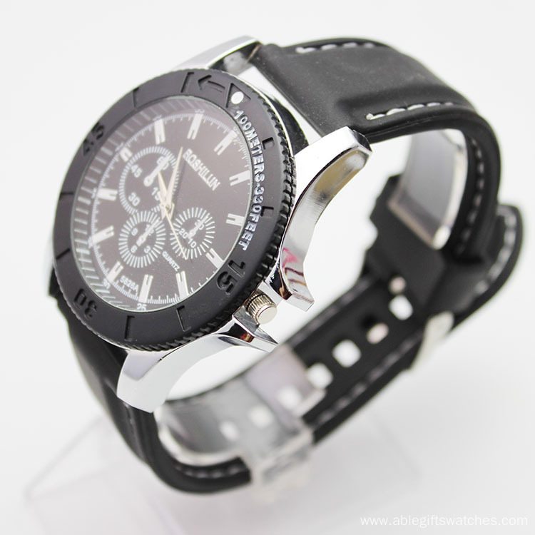 Popular Selling Colorful Leather Quartz Watches