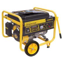 El CE GS aprueba el generador 4kw 4.5kw de la gasolina del aire fresco del movimiento 4