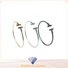 2016 jóia mais recente para a mulher 925 Bangle Prata (G41284)