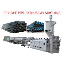 Linha de produção da extrusão da tubulação do PE HDPE PPR da extrusora