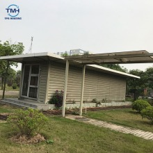 20ft prefabricated flat packing container houses two bedroom container house in China