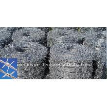 Galvanizado arame farpado fabricante