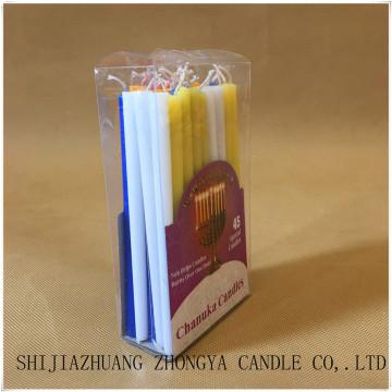 Jewish holiday Chanukah candle set
