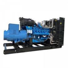 Gerador a diesel de tipo aberto Baudounin