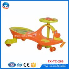PU-blinkende Rad-Baby-Schwingen-Auto-Yoyo-Auto-Spielzeug-Schwingen-Auto / preiswerter Preis-Twist-Auto- / Swing-Auto-Plasma-Auto-Twist-Auto