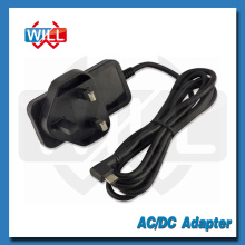 CE BS switching dc 5v 1a UK power adapter