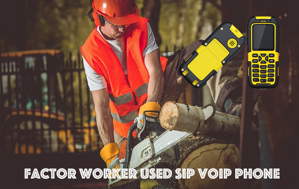 Factor Worker Used SIP VOIP Phone