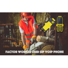 Factory Worker Used SIP VOIP Phone