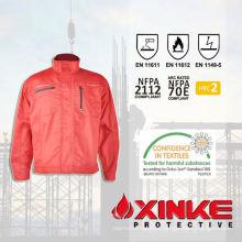 jaqueta de inverno de mineração de sarja de algodão profissional funcional