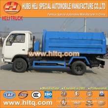 4X2 DONGFENG brand 95hp refuse collecting truck capacity of 5 tons high quality in China