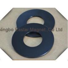 Черный эпоксидной покрытие неодимовый магнит-кольцо