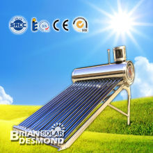 simple structure &easy installation non-pressurized solar water heater