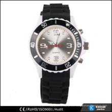 Reloj de pulsera de silicona de cuarzo