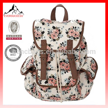 Mochila / mochilas escolares de la escuela de lona de la manera para las muchachas / estudiantes / mujeres HCB0075