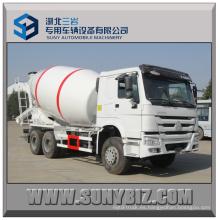 12 Cubic Sinotruk HOWO 6X4 Camión mezclador de hormigón