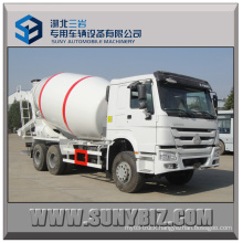12 Cubic Sinotruk HOWO 6X4 Concrete Mixer Truck