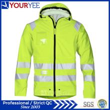 Imperméable à la sécurité Haute visibilité Hi Vis PU Rain Jackets (YFG115)