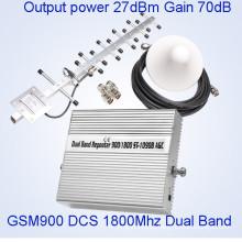 GSM 900MHz Dcs 1800MHz señal repetidor de la señal de teléfono celular de refuerzo para uso doméstico Mini tamaño repetidor