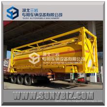 Q235 Contenedor cisterna ISO 20FT de combustible
