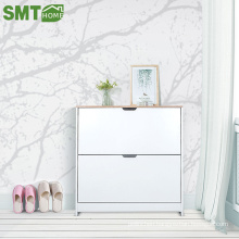 new model design melamine mdf modern shoe cabinet