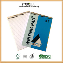 Promotional Item Customized Brand Spiral Notebook of Students