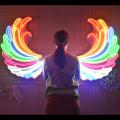 ANGEL WINGS 1 LED NEON ILLUMINATED SIGNAGE