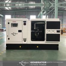 Gerador diesel silencioso trifásico da CA 75 kva com CUMMINS motor 4BTA3.9-G11