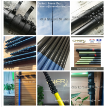 euro thread pole tips/ adaptor for window cleaning carbon telescopic poles