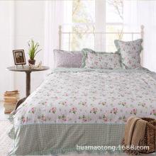 Korea Style Cotton Duvet Cover Set for Home Textile Design