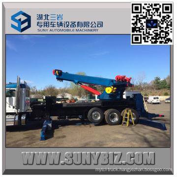 50 Ton Sliding Rotator Heavy Duty Tow Truck Upper Body