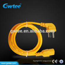 universal power connection cords with 3*0.75mm2 plugs FXD-293