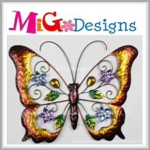 Enjoyable Colorful Metal Butterfly Wall Decor
