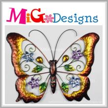 Приятные Красочные Металлическая Бабочка Стены Декор
