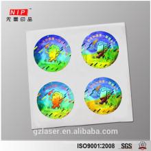 Haustier Anti-Fälschung Logo Hologramm Sicherheit Aufkleber