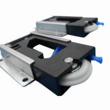 Sliding Door Roller, Made of Steel with Zinc Electroplated Metal Finish and Male Wheel Type
