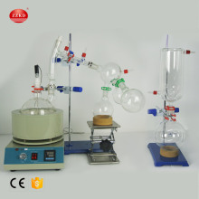 2L Short Path Distillation With Stirring Heating Mantle