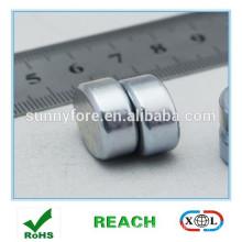 Neodym Magnet Scheibe N35 Zn axial