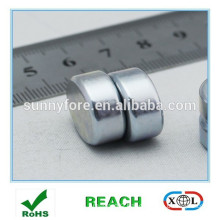 neodymium magnet disc N35 Zn axial