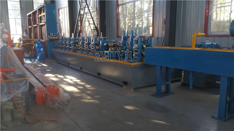 steel square welding pipe making machines