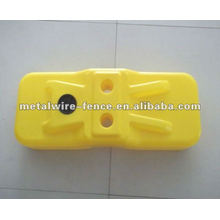 plastic temporary fence feet/base